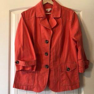 Coldwater Creek jacket-denim. Sz. 20